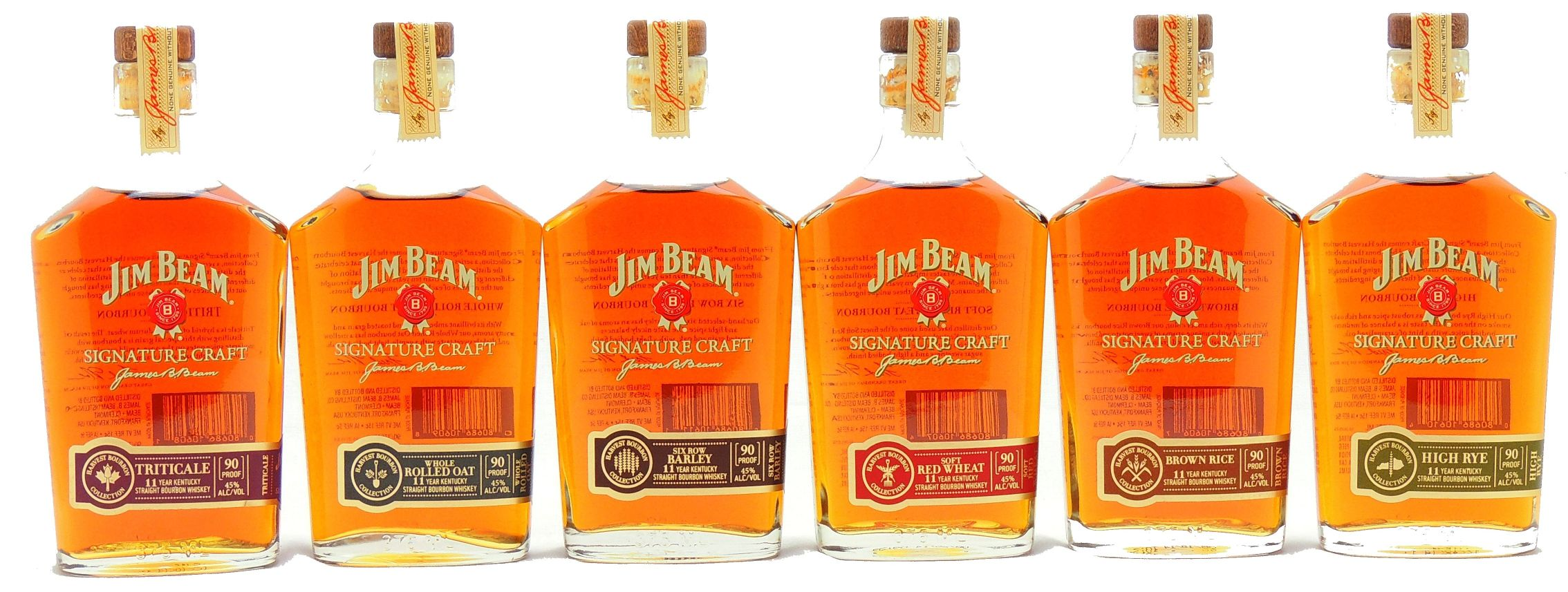 Jim Beam Signature Craft Harvest Bourbon Collection